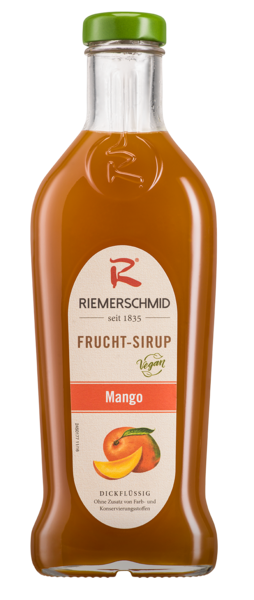 Riemerschmid Frucht-Sirup Mango 0,5L