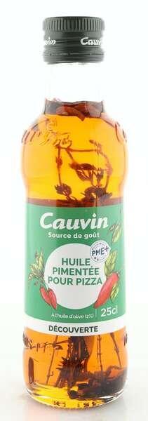 Cauvin Chili-Öl - Huile Pimentée - für Pizza Grillfleisch & Nudeln 250ml