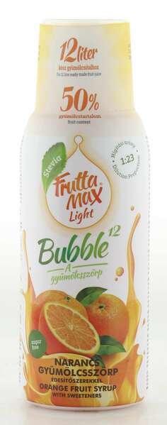 Frutta Max Light Bubble Orangen Sirup