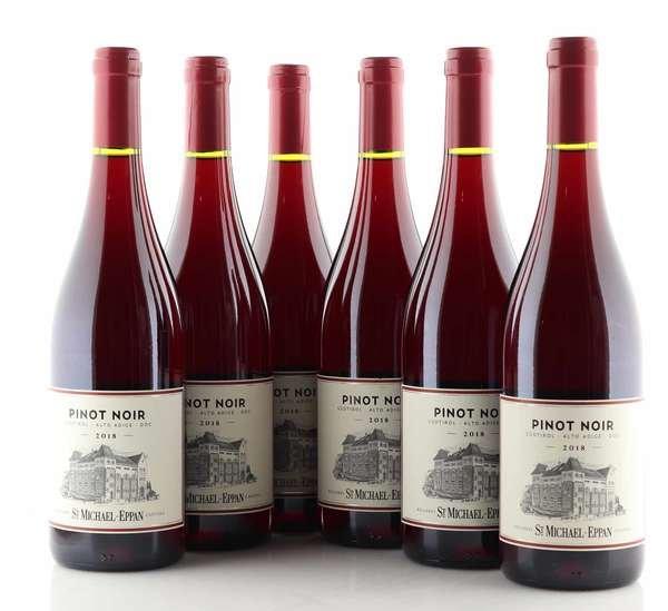 6 X St. Michael Eppan Blauburgunder Pinot Nero