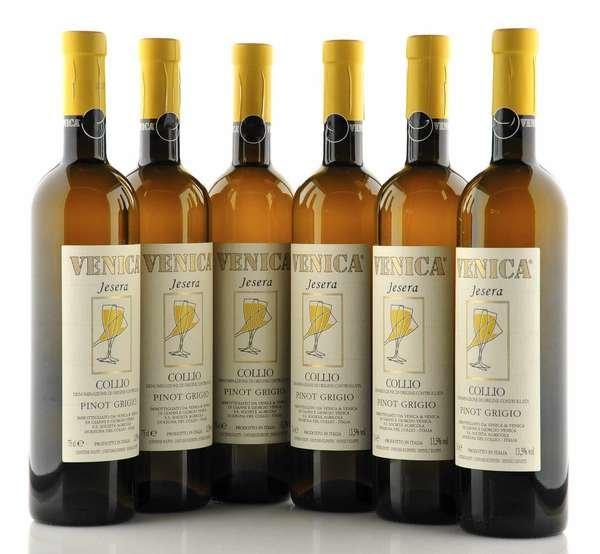 6 X Venica Jesera Collio Pinot Grigio