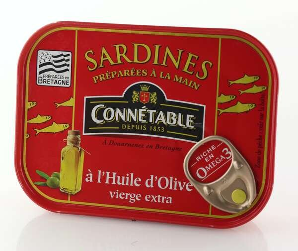 Connetable Sardinen eingelegt in Olivenöl 135gr. / Atg. 102gr.