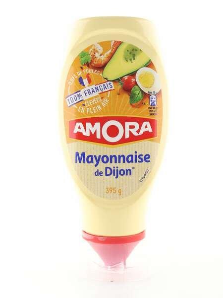 Amora Mayonnaise de Dijon 395g Standtube 100% francais