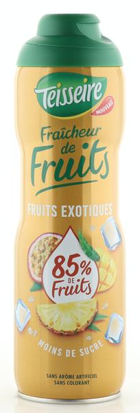 Teisseire Sirup mehr Frucht - weniger Zucker exotische Früchte 600ml