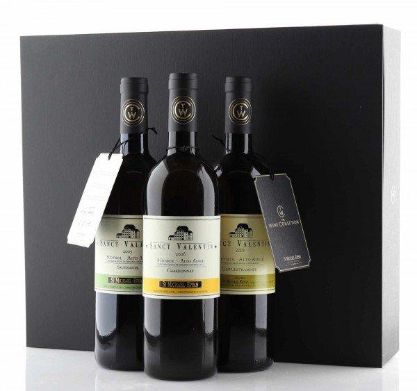 St. Michael Eppan The Wine Collection DOC 3 Flaschen à 0,75L