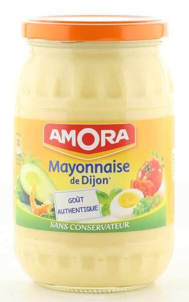 Amora Mayonnaise de Dijon 725g Glas aus Frankreich