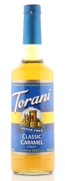 Torani Sirup Karamell zuckerfrei 750ml Flasche