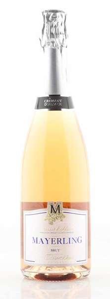 Mayerling Cremant d'Alsace Mayerling Brut Rose 0,75L