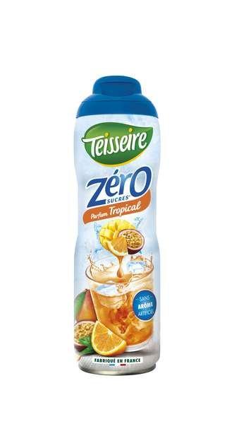 Teisseire Zero Sirup Tropical zuckerfrei 600ml