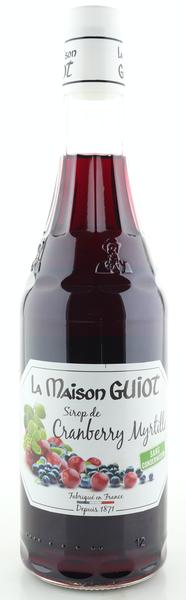 La Maison Guiot Sirup Cranberry Blaubeere 700ml