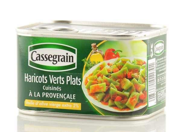 Cassegrain flache grüne Bohnen à la Provence 375g