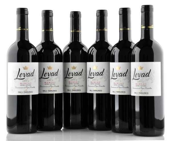 """6 X Nals Margreid """"Levad"""" Merlot 2016 0,75L"""