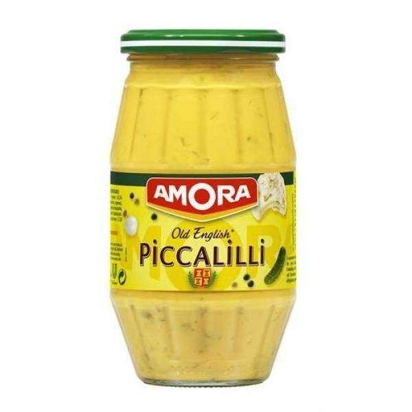 """Amora Senf """"Piccalilli"""" im 435g Glas"""