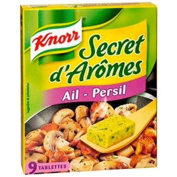 Knorr Brühwürfel mit Knoblauch + Petersilie 90g