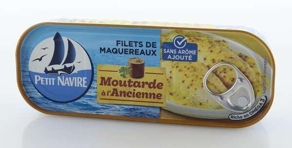 Petit Navire Makrelenfilets in Senf 169g