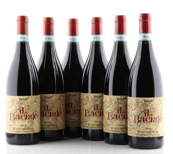 6 X Braida Il Bacialé Monferrato Rosso