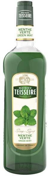 Bar Sirup Grüne Minze - Teisseire Special Barman - 1L