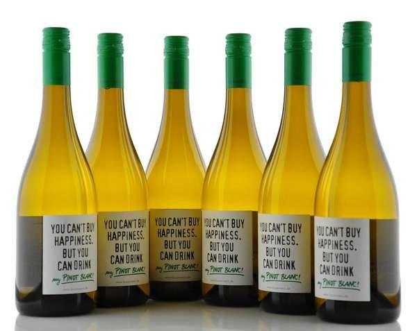 "6 X Emil Bauer Pinot Blanc ""Happy"""