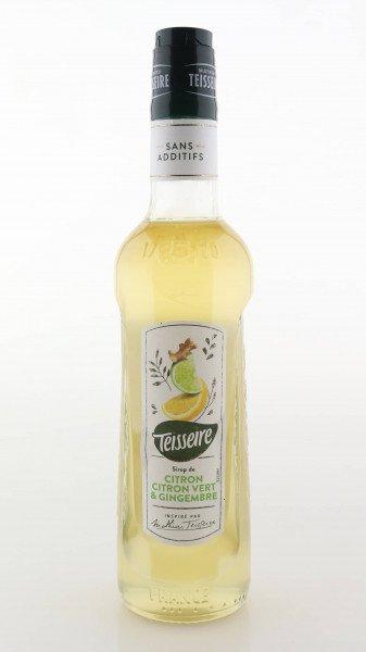 Teisseire Sirup Zitrone, Limette + Ingwer