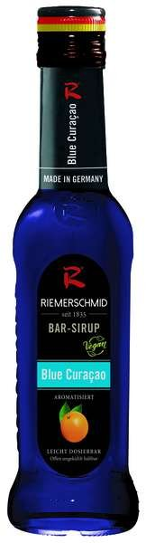 Riemerschmid Bar-Sirup Blue Curacao 0,25L