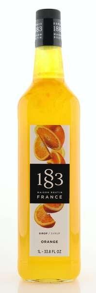 1883 Maison Routin Sirup Orange