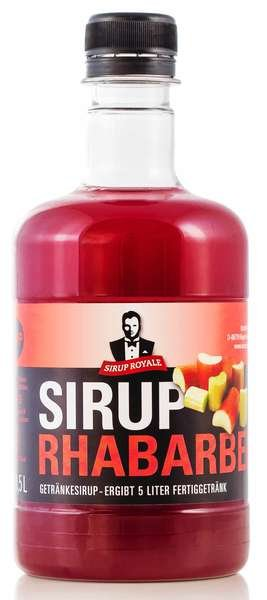 Sirup Royale Rhabarber 0,5L