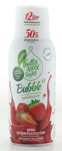 Frutta Max Light Bubble Erdbeer Sirup