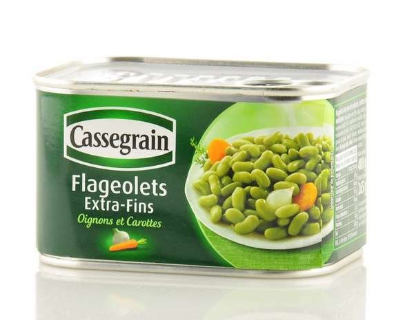 Cassegrain Flageolets Bohnen extra fein 400g / Atg. 265g
