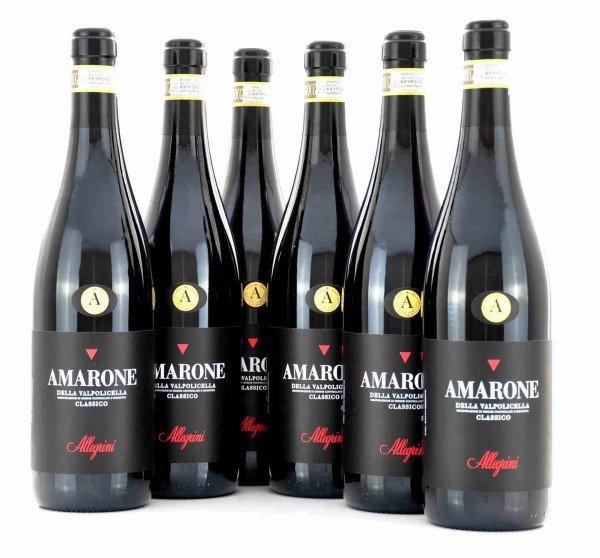 6 X Allegrini Amarone della Valpolicella Classico
