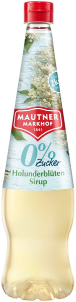 Mautner Markhof 0% Zucker Sirup Holunderblüte