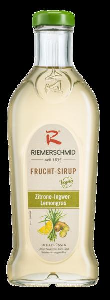 Riemerschmid Frucht-Sirup Zitrone-Ingwer-Lemongras 0,5L