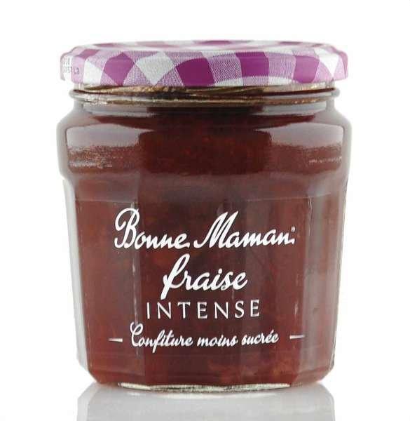 """Bonne Maman Intense (intensiv fruchtig) """"Erdbeere"""" 335g Glas"""