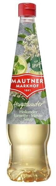 Mautner Markhof Sirup Hugolunder® Holunder Limette Minze