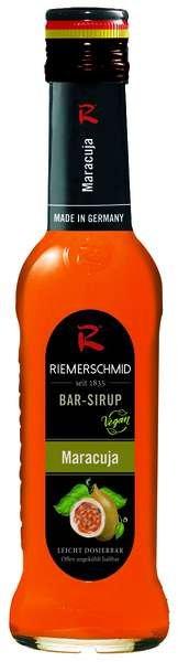 Riemerschmid Bar-Sirup Maracuja 0,25L