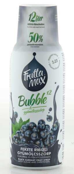 Frutta Max Bubble schwarze Johannisbeeren Sirup