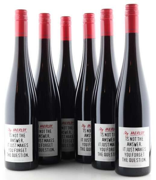"""6 X Emil Bauer """"my Merlot"""" is not the answer"""