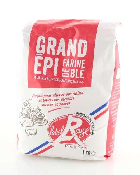 La compagnie des farines Weizenmehl Label Rouge Typ65 1kg