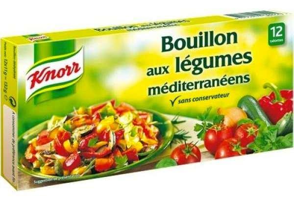 Knorr Brühwürfel mediterranes Gemüse 132g