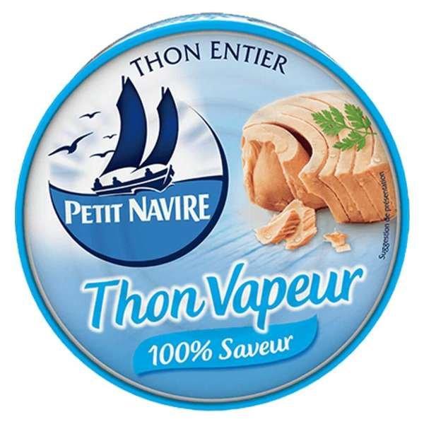Petit Navire Thunfisch gedämpft - 100% Geschmack 130g