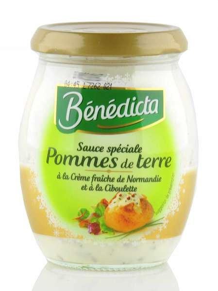 Benedicta Sauce speziell für Kartoffelgerichte im 260g Glas