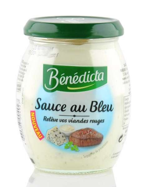 "Benedicta ""Sauce au Bleu"" Sauce mit Roquefort im 260g Glas"