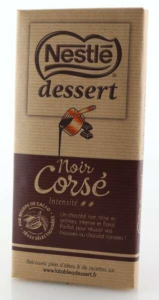 Nestlé Dessertschokolade Noir Corsé