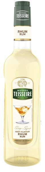 Bar Sirup Rum (alkoholfrei) - Teisseire Special Barman - 700ml