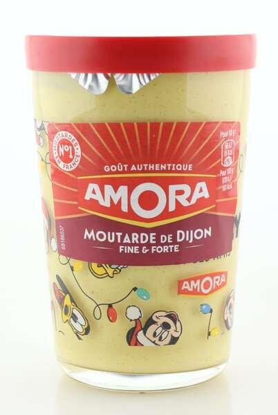 Amora Dijon Senf im 195g Dekorglas