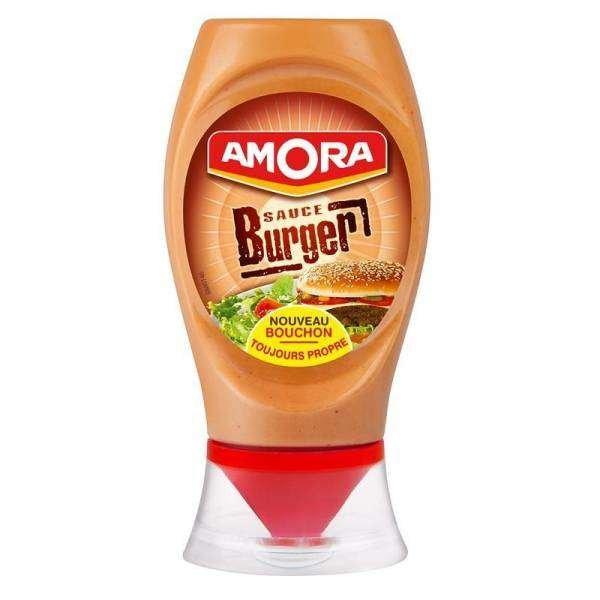 Amora Burger Sauce 260g Standtube