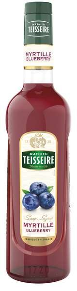 Bar Sirup Blaubeere - Teisseire Special Barman - 700ml