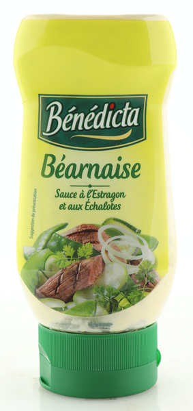 "Benedicta Sauce ""Bearnaise"" 235g Standtube"