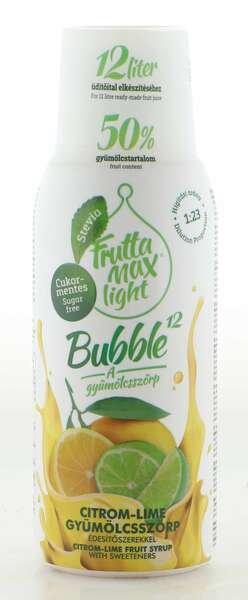 Frutta Max Light Bubble Zitronen- & Limetten Sirup