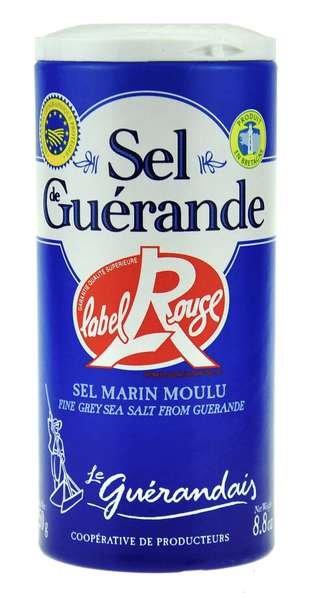 Les Salines de Guérande - Grobes Meersalz Marin Moulu 250g