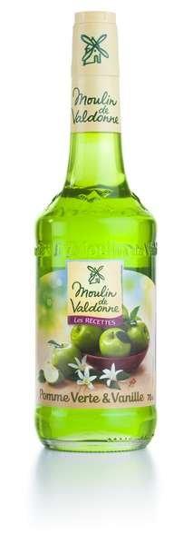 Moulin de Valdonne Sirup grüner Apfel & Vanille 700ml